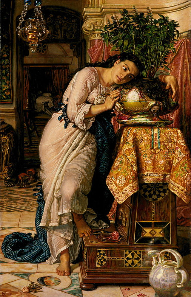 William Holman Hunt, Isabella and the Pot of Basil, 1868 (Image: Wikimedia Commons)